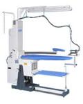 Pallas Trevil Bügeltisch Blas-Absaugbügeltisch Bügeltisch mit Absaugung und Gebläse Planoflex mit Dampferzeuger